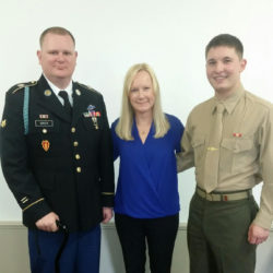 Dole Caregiver Fellow: Jennifer MacKinday with her brother and son