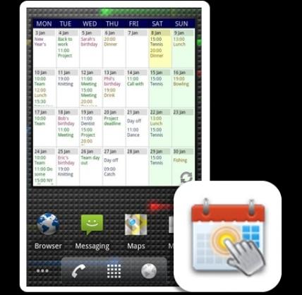 Touch Calendar