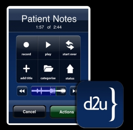 d2u Dictation and Transcription