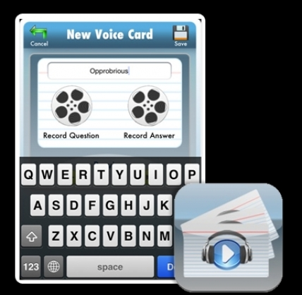 Voice Cards Are Not Flashcards
