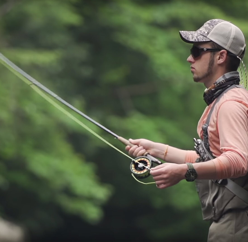 Joey Maxim's story of finding hope through fly fishing