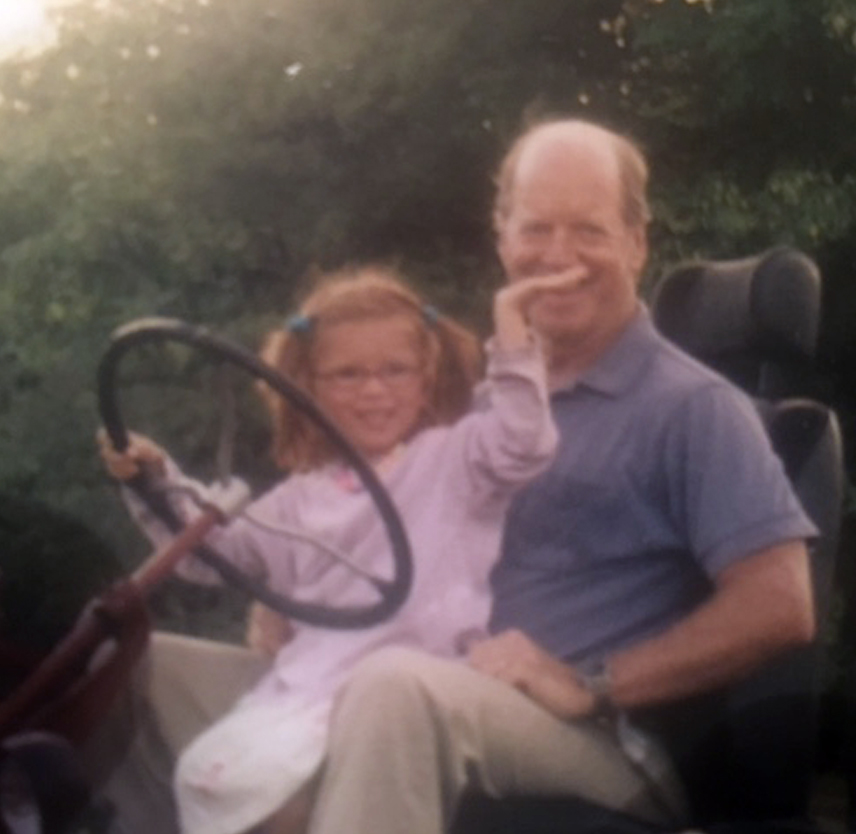 Living Between Two Brain Injuries: My daughter Téa and my father Kit, years before their brain injuries.