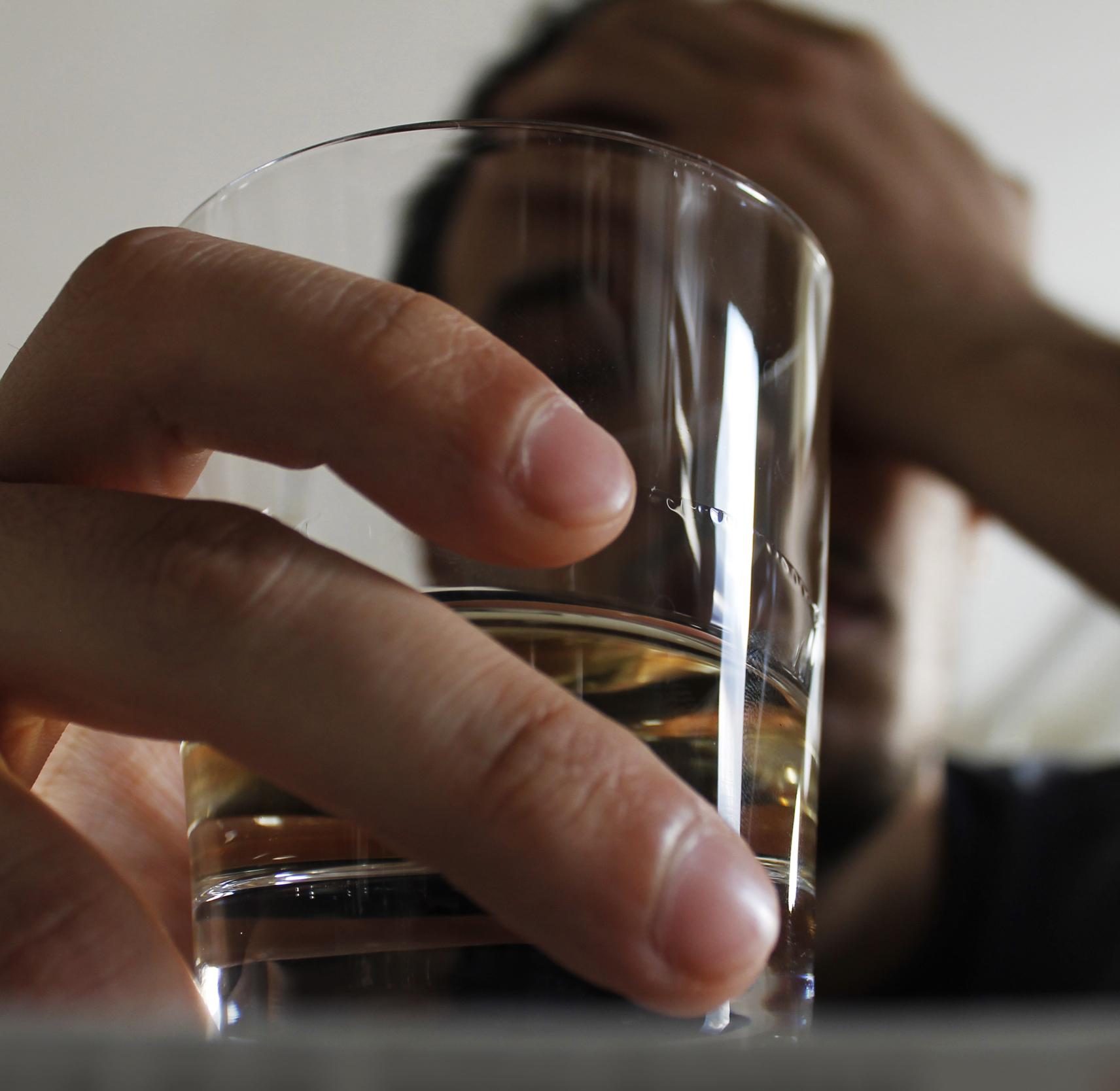 Alcohol-induced brain damage continues after alcohol is stopped