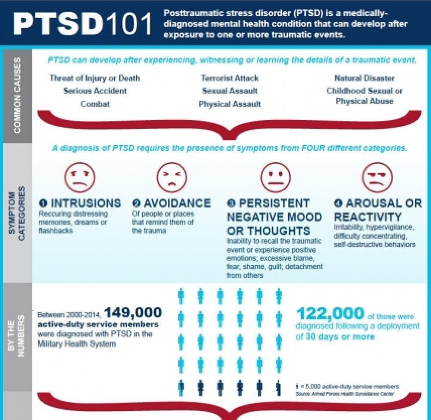 Inforgraphic: PTSD 101