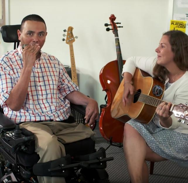 Musical healing for TBI and PTSD