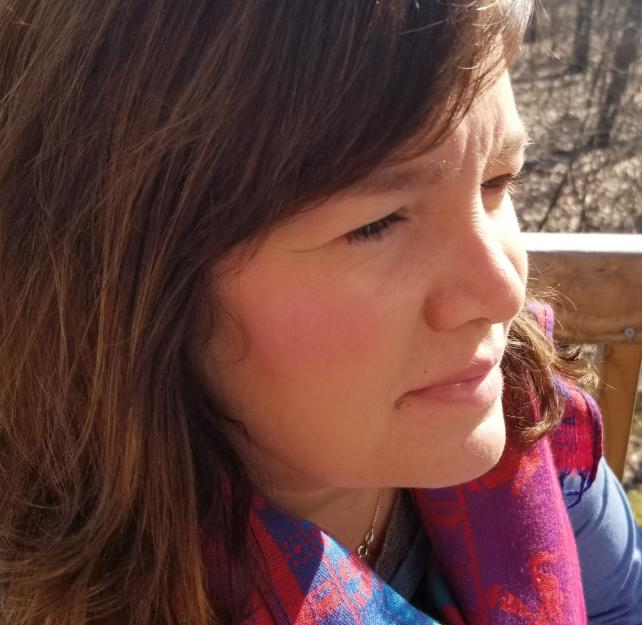 Nicole Bingaman in profile