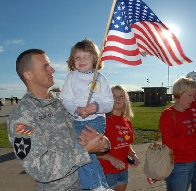 Drawing on the Strength of Military Families