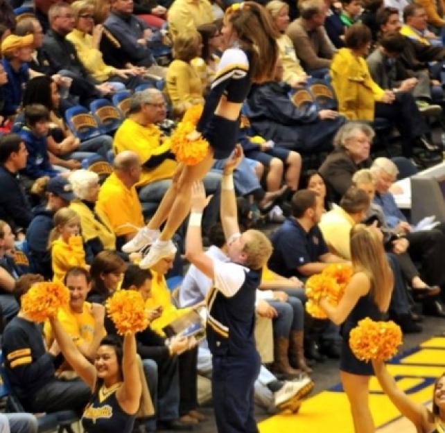 Jonathan Duncan's Cheerleading Concussion
