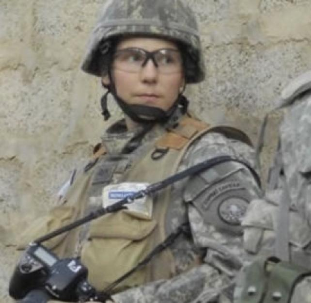 Real Warriors: Staff Sgt. Stacy Pearsall
